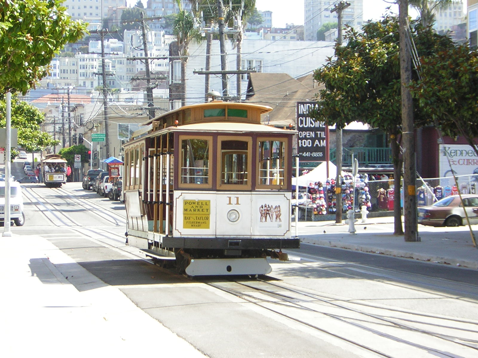 Trolley car san francisco map images for Chambre cars