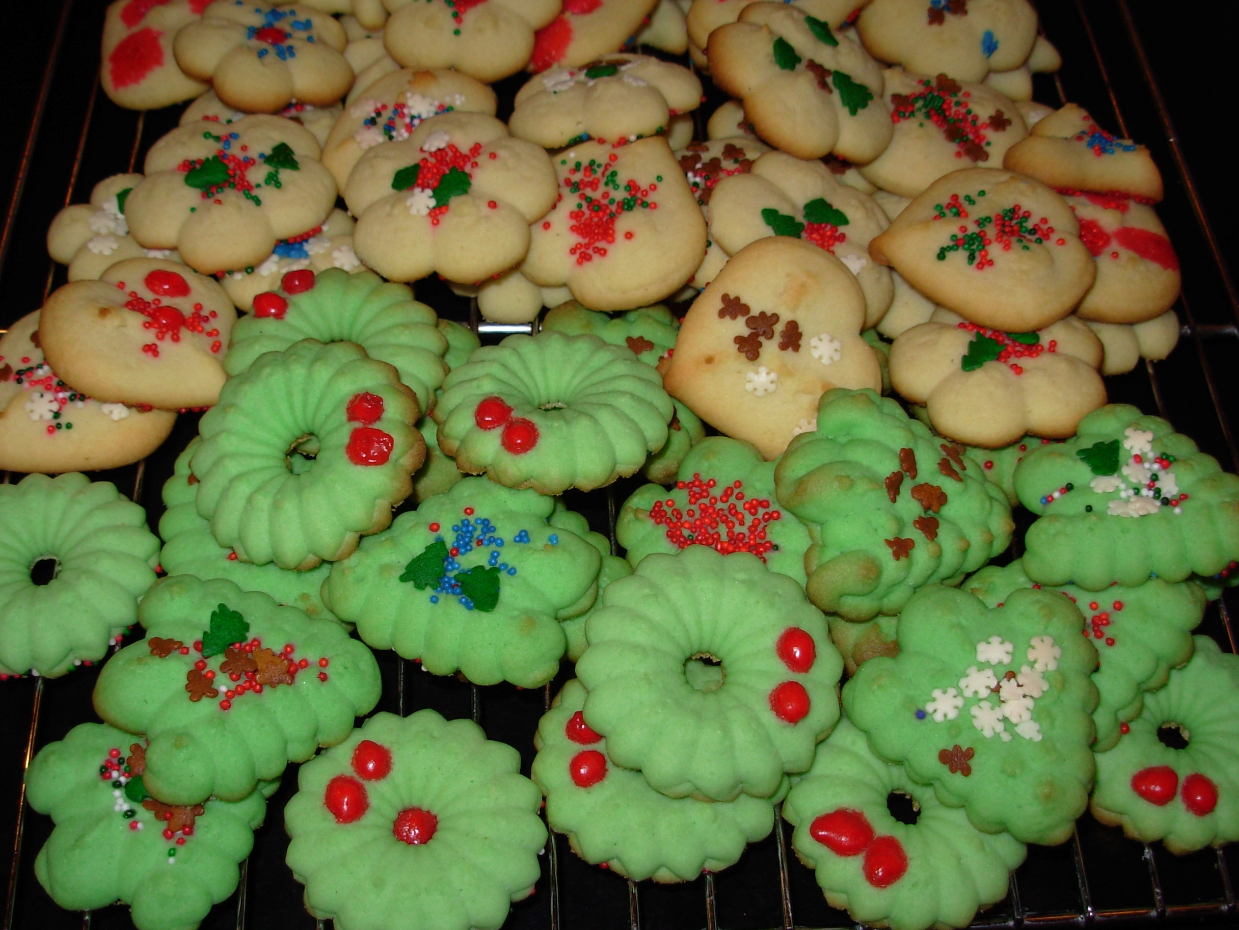 12 days of green holiday gifts homemade cookies slow family - Homemade Christmas Cookies