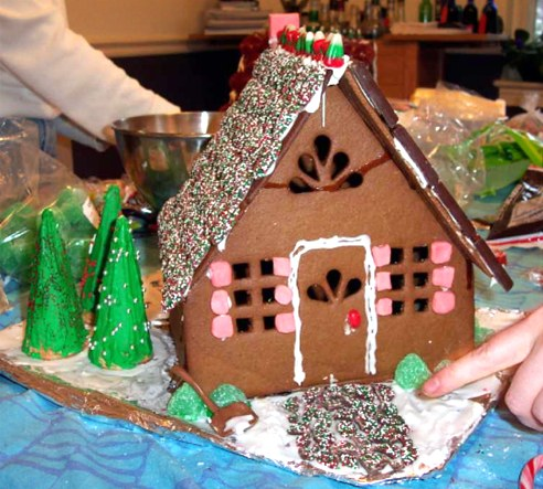 Build Your Dream Gingerbread House Part One - Slow Parenting
