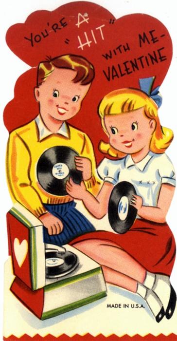 vintage valentines part 2  slow family